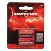 SureFire CR123A 3 volt Batteries